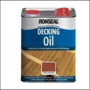 Ronseal 5L Decking Oil ~ 2-and-a-half L or 5L - 5 Colours
