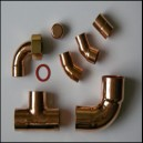 Copper Solder Plumbing Fittings Assorted Fittings