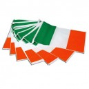 Irish Flag Fabric Bunting 5M Tricolour