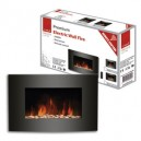 DeVille Premium Wall Stone Fire With Remote Control