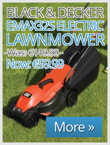 Black and Decker EMAX32S 1200W 32cm Electric Lawnm