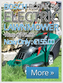 Bosch Rotak 34 Electric Lawnmower