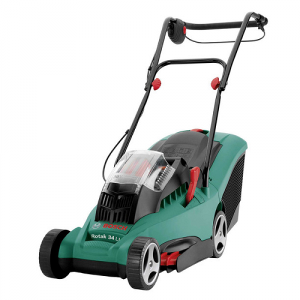 bosch rotak 32 li rotary cordless lawnmower. Black Bedroom Furniture Sets. Home Design Ideas