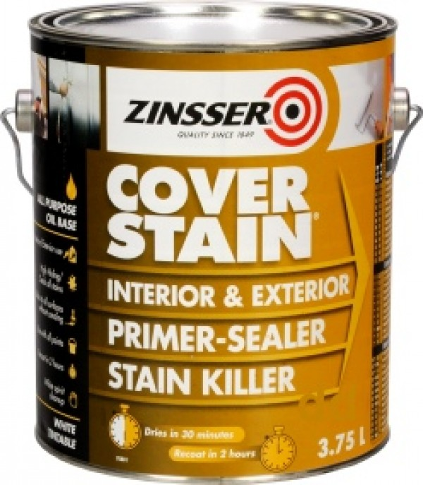 home painting sealers primers zinsser cover stain primer sealer and. Black Bedroom Furniture Sets. Home Design Ideas