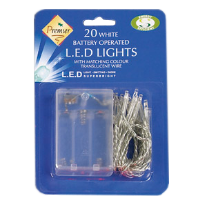 Classic Christmas LED Battery Operated Lights