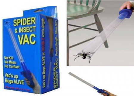 Battery Operated Spider and Insect Vac