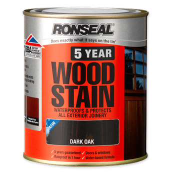 Ronseal 10 Year Woodstain 750ml - Assorted Colours