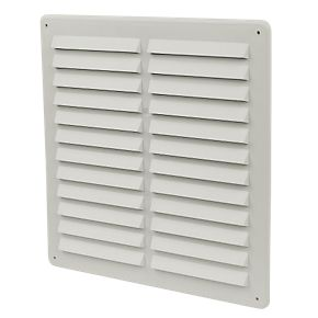 Plastic Louvre Vents Assorted Sizes