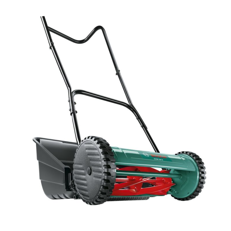 Bosch AHM 38G Cylinder Push Lawnmower 38cm 0600886103 boschmowers