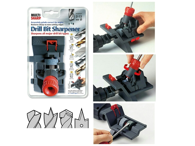ATT2001 Multi-Sharp Dual Purpose Drill Bit and Tool Sharpener