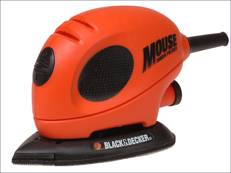 XMS17MOUSE Mouse Detail Sander and Sanding Sheets Black and Decker
