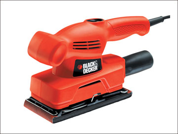 Black and Decker KA300 Orbital Sander Sheet 135 Watt