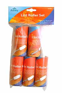 Lint Roller Set With Spare Rolls