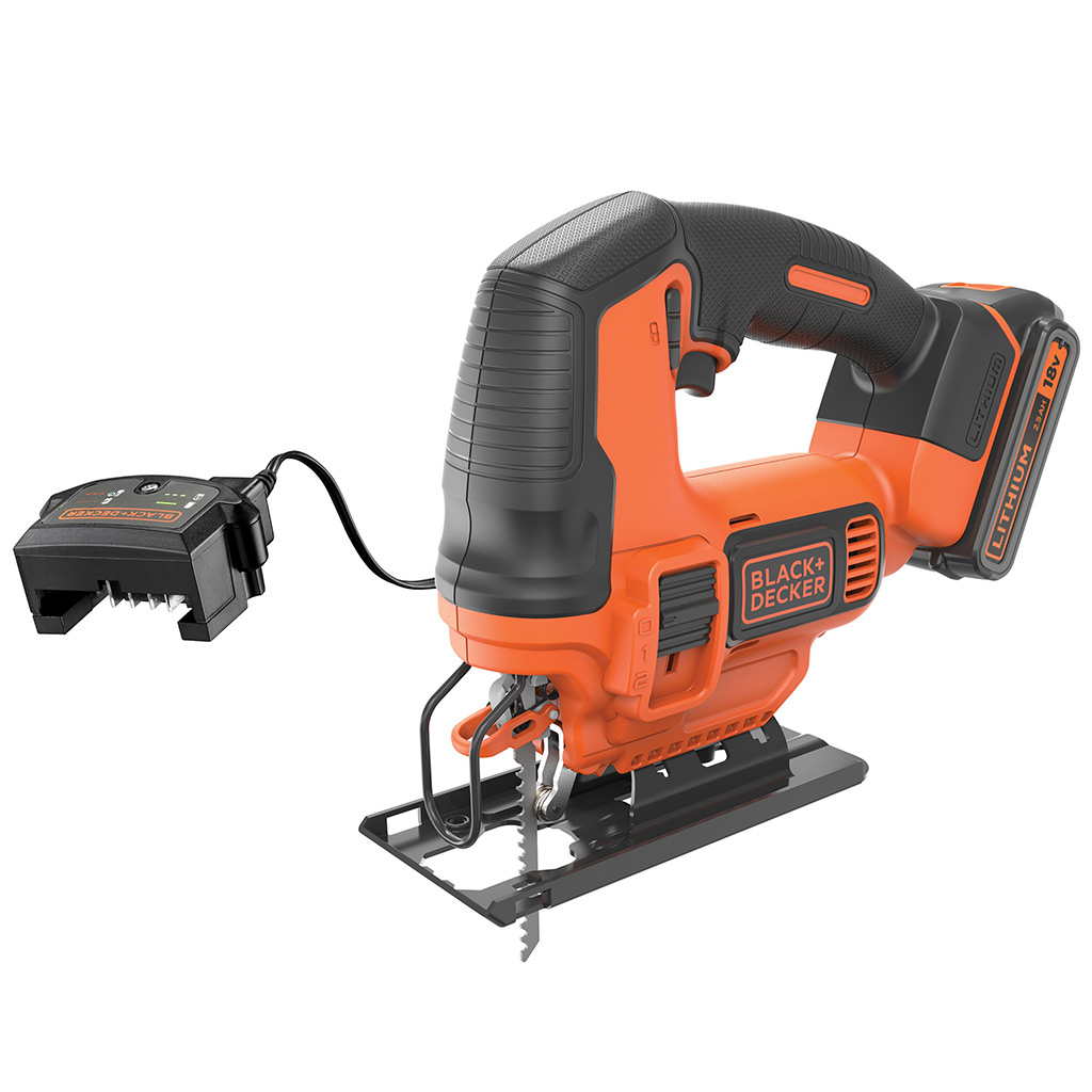 Black and Decker 18V JIGSAW and 400MA CHARGER