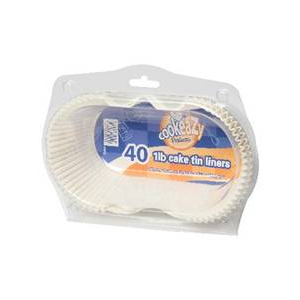 Cookeazy Silicone Loaf Tin Liners 1lb 40 Pack