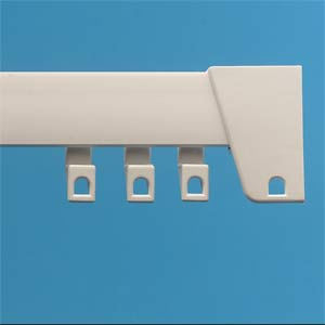 Deville Uncorded Curtain Rail Track 150cm