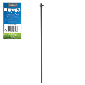De Vielle Clothes Line Post - Heavy Duty Line Pole