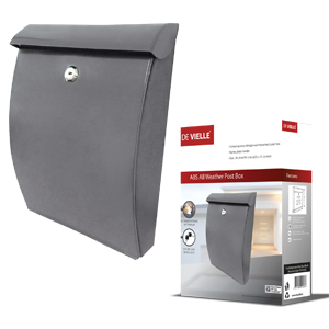 De Vielle ABS All Weather Post Box