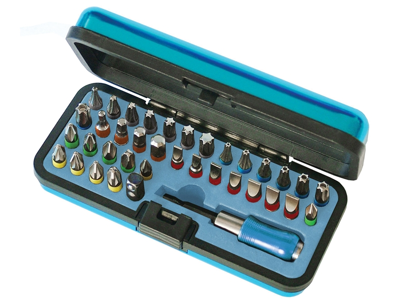 FAISBSET37 Faithfull 37 Piece Bit and Socket Set