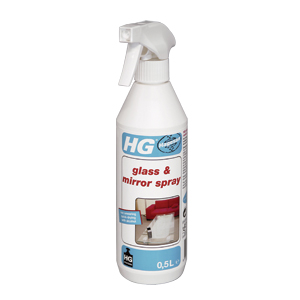 HG glass cleaner spray
