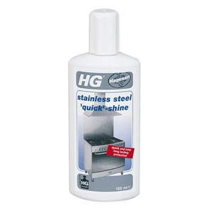 HG Stainless Steel Quick Shine 125ml