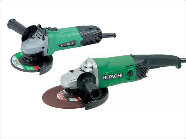 Hitachi Angle Grinder Twin Pack 230mm and 115mm 110V