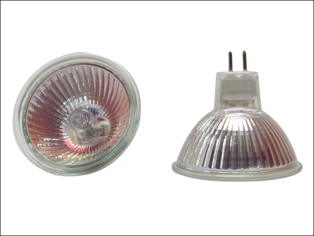 Eveready MR16 Halogen Lamps 12 Volt DC 20w or 50w