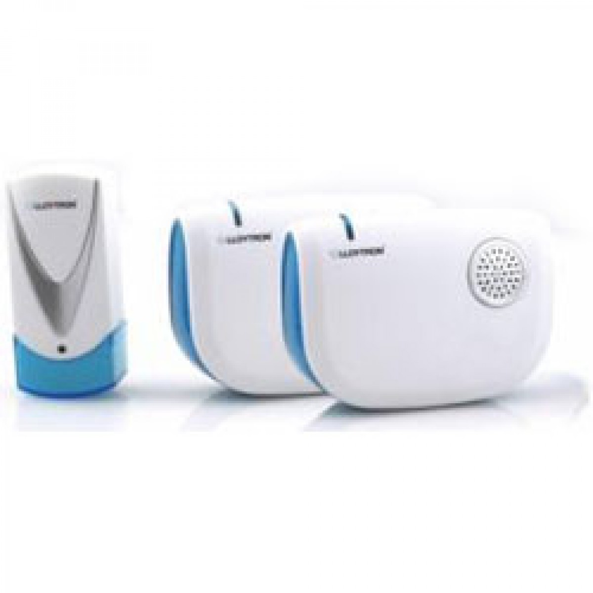 Lloytron Dual Cordless Battery Operated Door Bell Chime