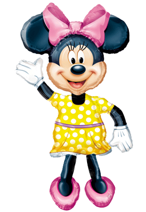 Minnie Mouse Airwalker Minnie Mouse Balloon