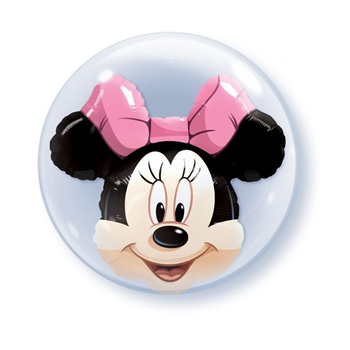Qualatex Double Bubble Minnie Mouse Balloon