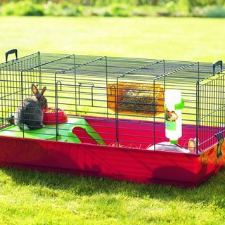 Nero De Luxe Rabbit Cage - Medium or Large