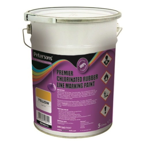 PETERSONS PREMIER LINE MARKING PAINT 5L Assorted Colours