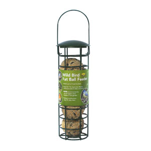 Wild Bird Fat Ball Feeder