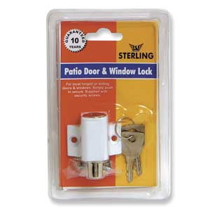 Patio Door and Window Press Lock