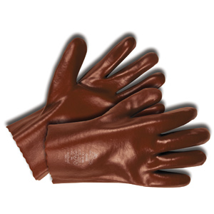 PVC Work Gloves with Knit Wrist