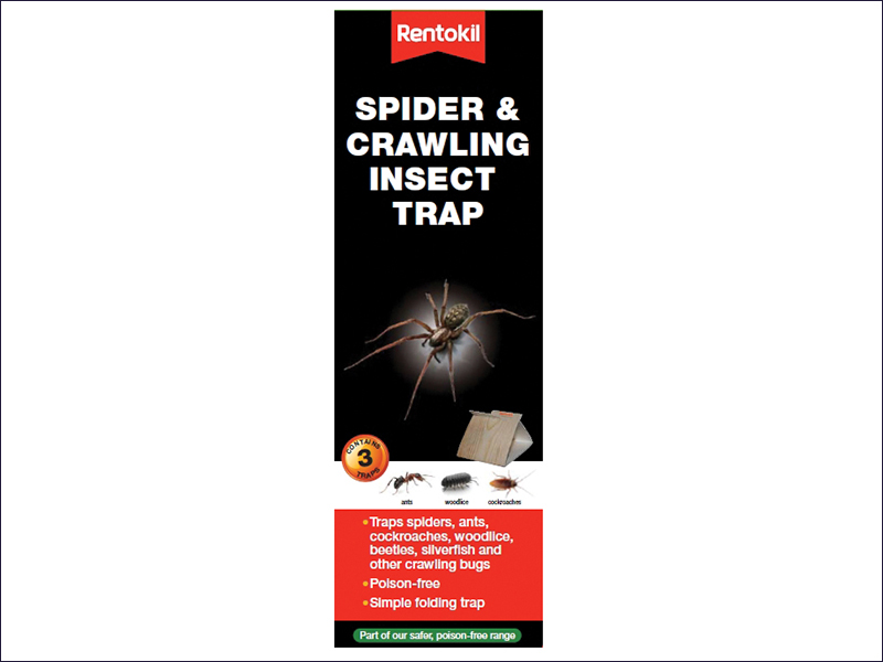 RKLFS58 Rentokil Spider and Crawling Insect Trap