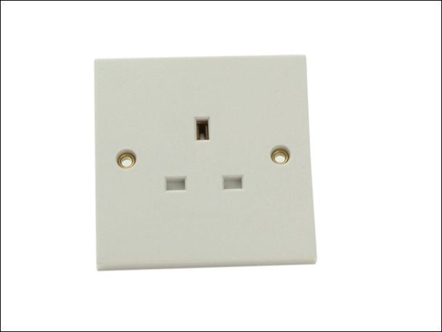 13 Amp Socket 1 Gang Unswitched or Switched