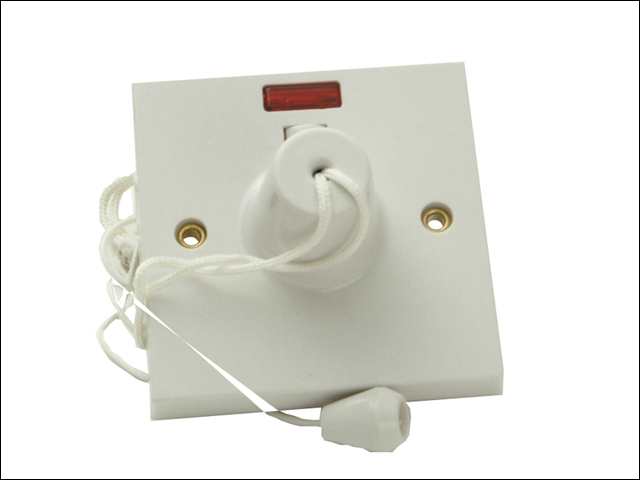 45A Pull Cord Ceiling Switch