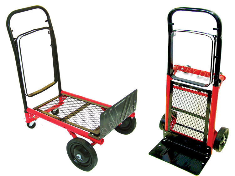 Blackspur Sack Truck or Cart with Pull Handle 50KG ST201