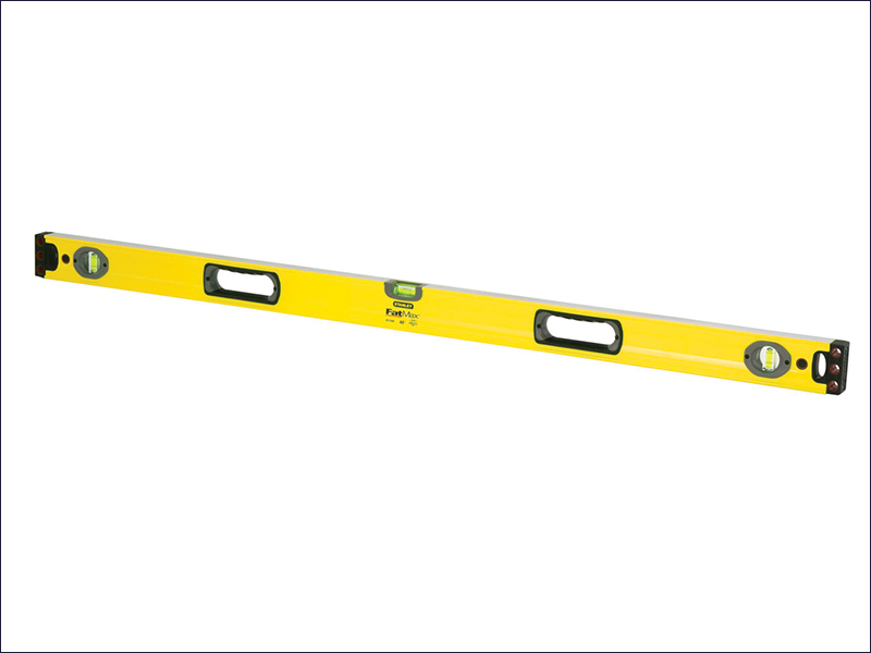Stanley FatMax Spirit Level 3 Vial 120cm STA143548