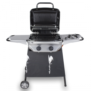 Sahara Rapid Assembly Plus Gas Barbecue with Side Burner