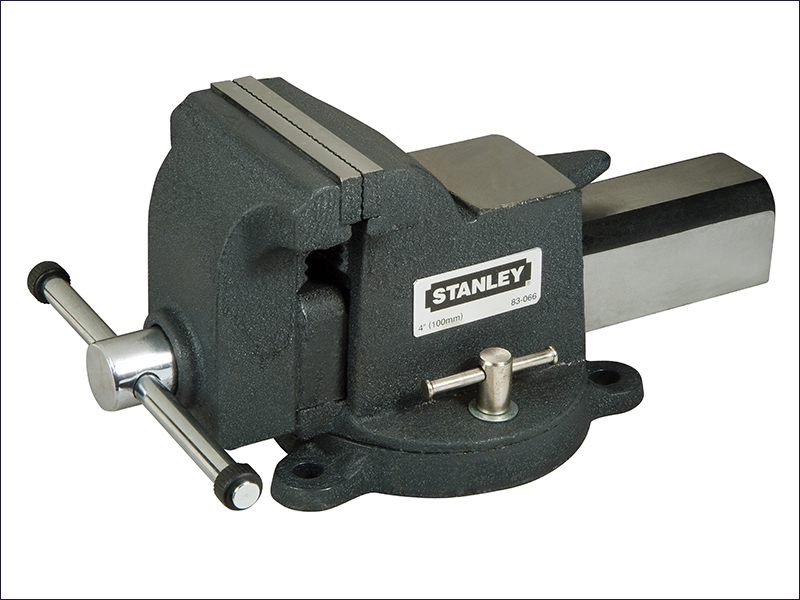 STA183066 Stanley MaxSteel Heavy-Duty Bench Vice 100mm