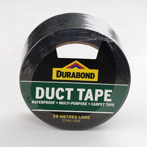 Durabond Duct Tape 50mm Assorted Colours 10m