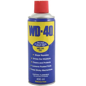 WD40 200ML 400ML or 5 Litre With Free Spray Applicator