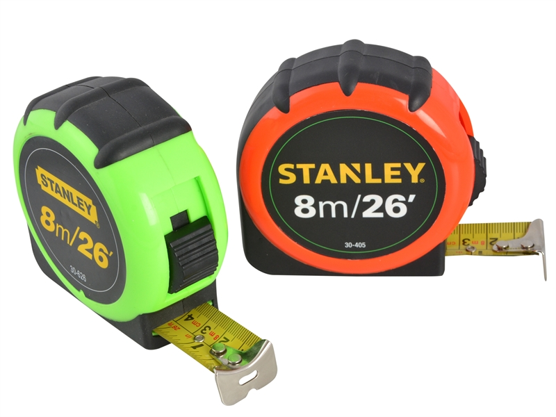 XMS17TAPE8 Stanley 8m or 26ft Tape Measure