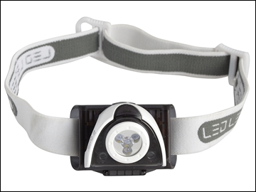 XMS16HEAD LED Lenser SE03 Black Head Lamp