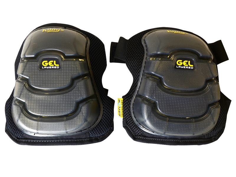 KUNKP367 Kunys Airflow Gel Knee Pads