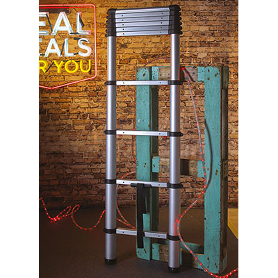 XMS18LADDER Zarges Soft Close Telescopic Ladder