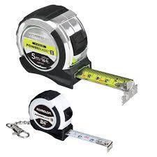 XMS18TAPEKEY Komelon PowerBlade Tape 5m and Key Ring Tape 2m