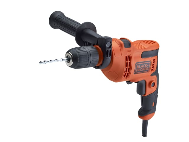XMS19BD500WD Black and Decker Hammer Drill 500W with Drill Bit Set